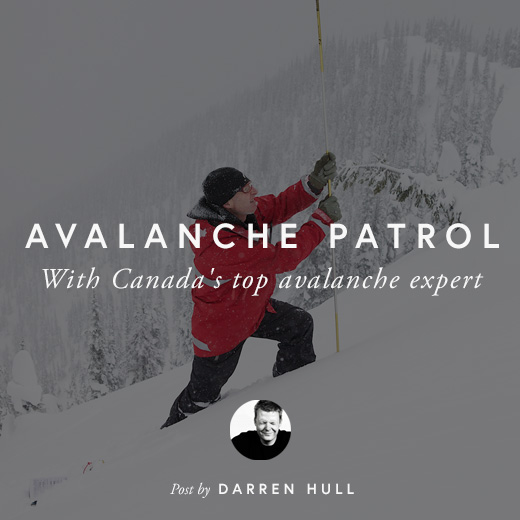 AVALANCHE PATROL by DARREN HULL